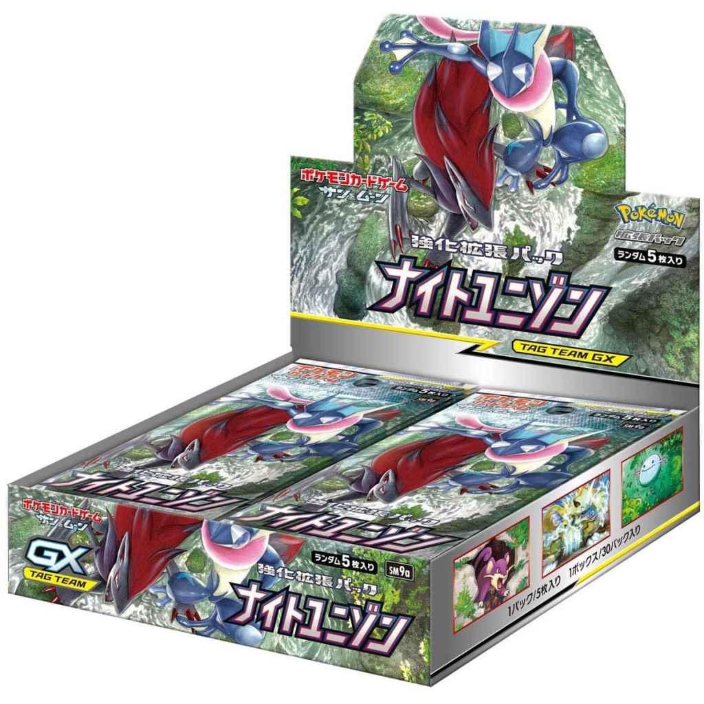 Pokemon Card Game Night Unison Box 1 TuttoGiappone