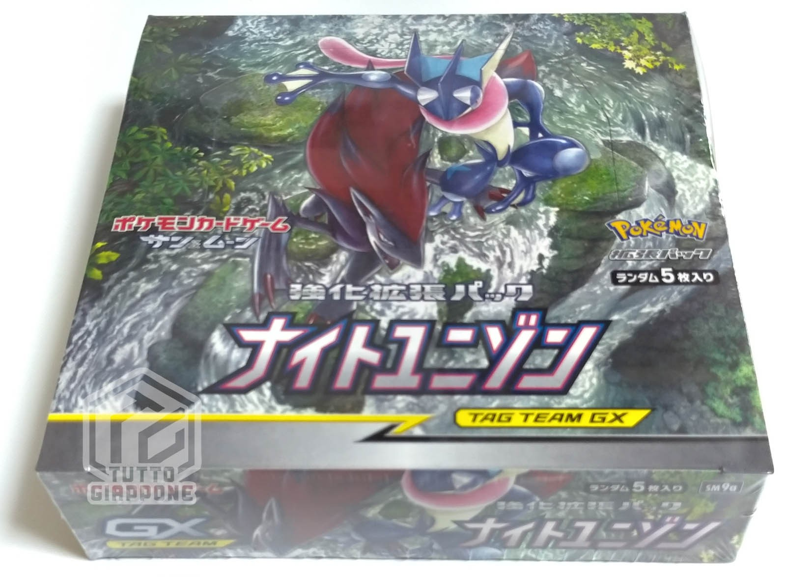 Pokemon Card Game Sun Moon Reinforcement Strength Expansion Pack Night Unison Box TuttoGiappone