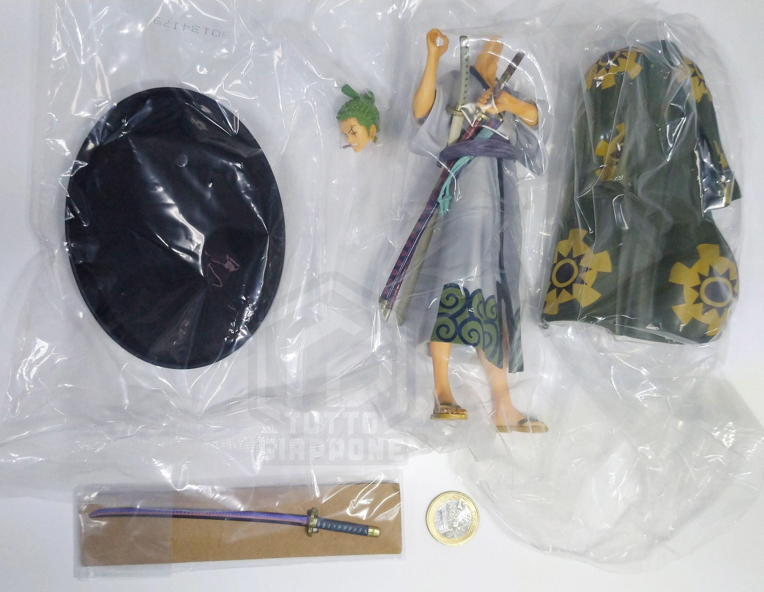 One Piece Zoro statuetta 39846 Banpresto TuttoGiappone