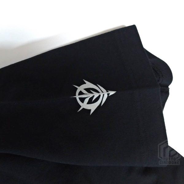 Bandai Gundam Gunpla Zaku II t-shirt nera manica TuttoGiappone