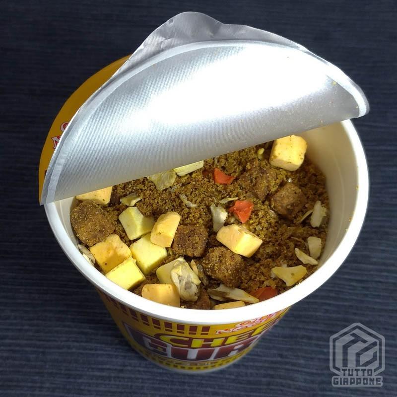 cup noodle aperto secco tuttogiappone