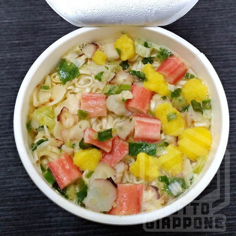 nissin cup noodle seafood aperto tuttogiappone