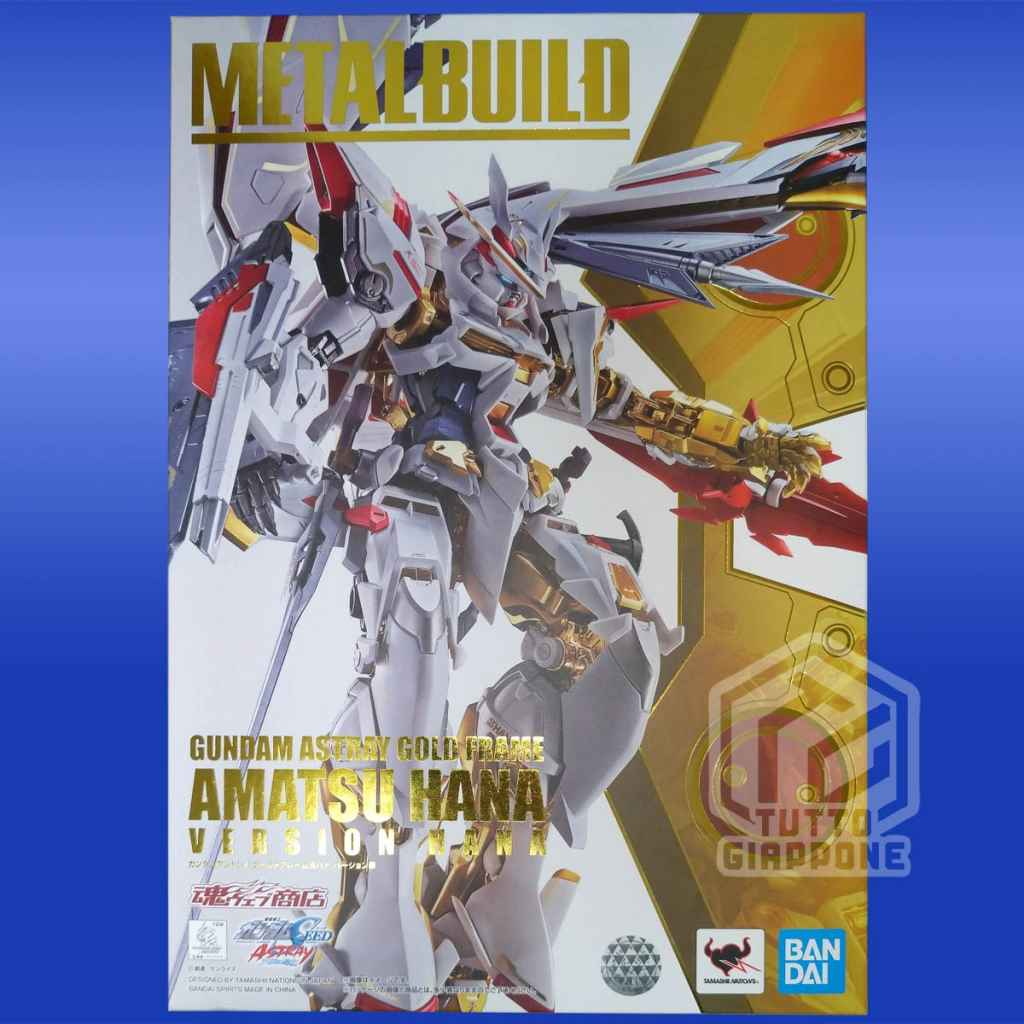 Metal Build MBF P01 Re3 Gundam Astray Gold Frame Amatsu Hana a2 tuttogiappone