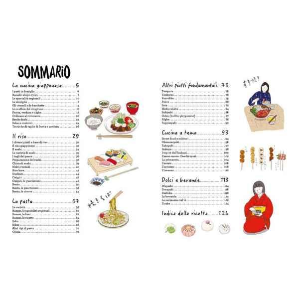 la cucina giapponese illustrata ediz 5 tuttogiappone