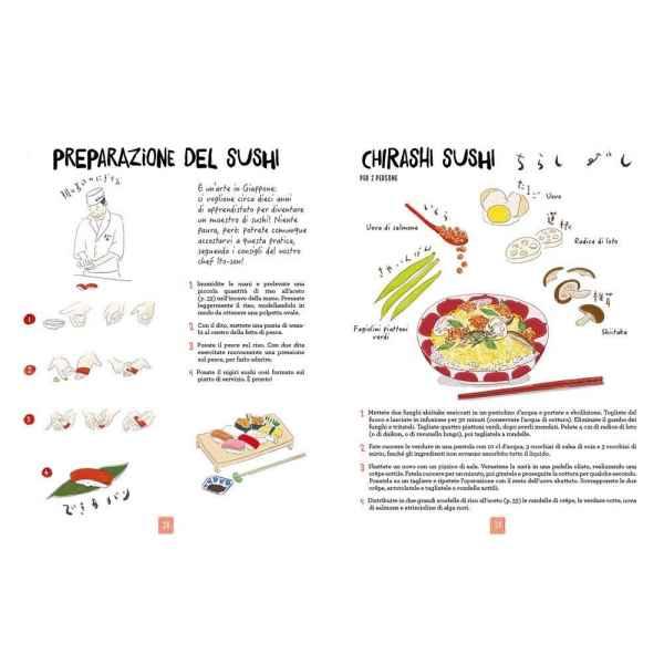la cucina giapponese illustrata ediz 9 tuttogiappone