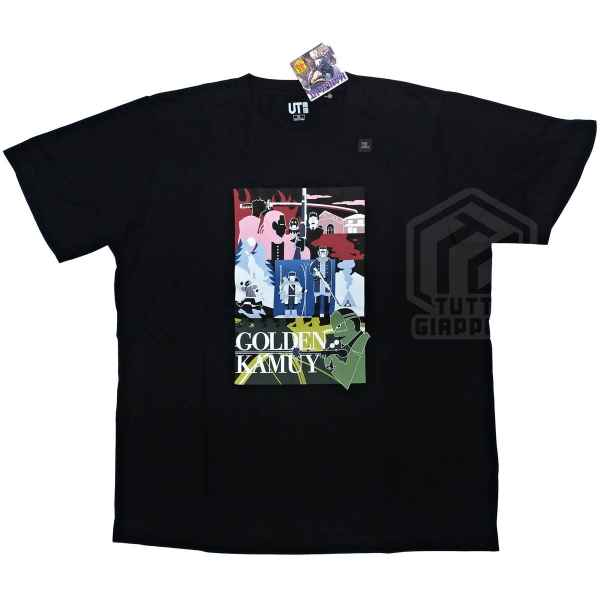t shirt maglietta golden kamuy fronte tuttogiappone