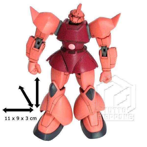 Bandai Gundam MS14S Char s Gelgoog anime version dimensioni tuttogiappone