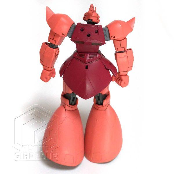 Bandai Gundam MS14S Char s Gelgoog anime version retro tuttogiappone
