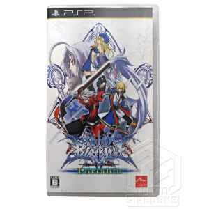 BlazBlue Calamity Trigger Portable PSP 1 tuttogiappone