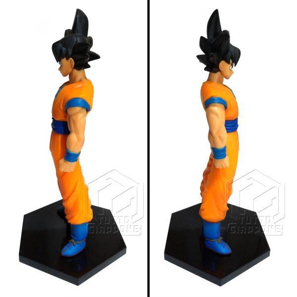 Dragon Ball statuetta di Goku in piedi pronto allo scontro 3 tuttogiappone
