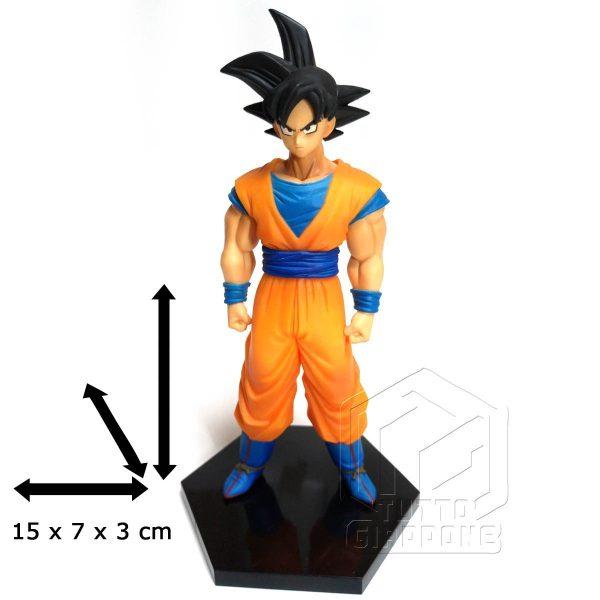 Dragon Ball statuetta di Goku in piedi pronto allo scontro 7 tuttogiappone
