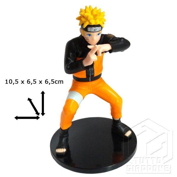 Naruto gashapon 3 Bandai 2009 action figure anime manga tuttogiappone 1