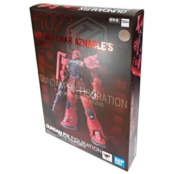 gundam fix figuration metal composite mobile suit zaku 3d tuttogiappone