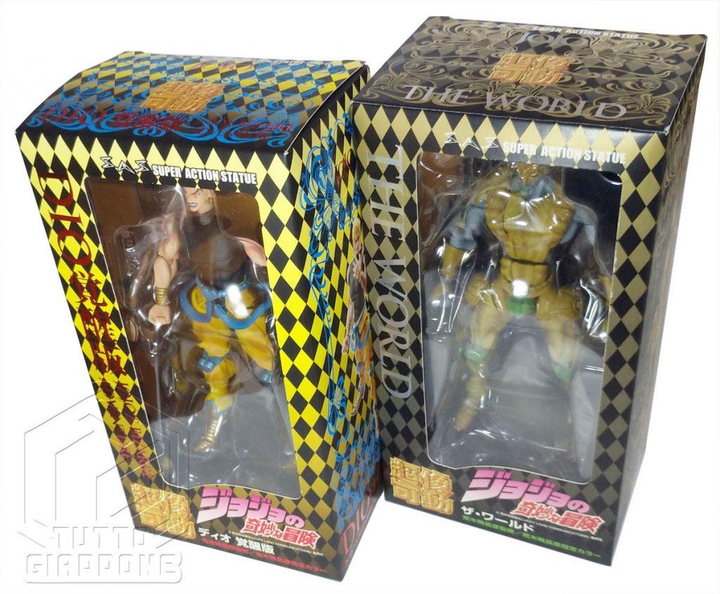 Dio Stand The World Super Action Figure JoJo s Bizarre Adventure tuttogiappone set 2 figure