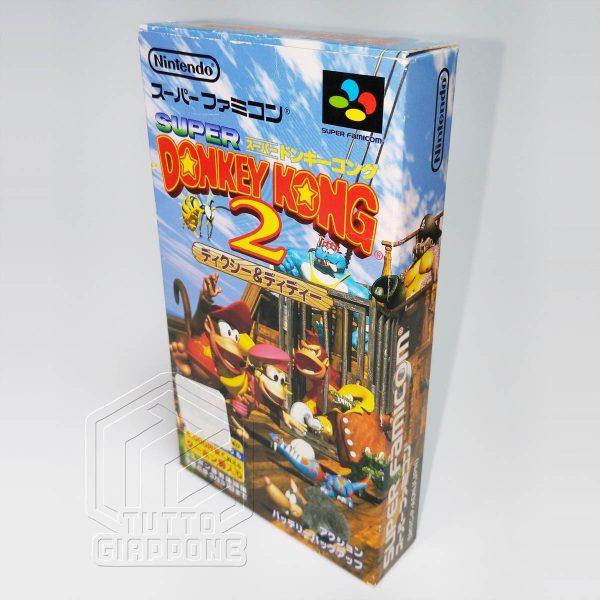 Donkey Kong 2 scatola 3D nes tuttogiappone