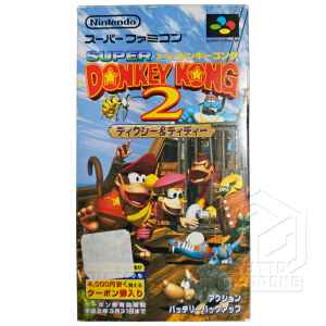 Donkey Kong 2 scatola fronte nes tuttogiappone