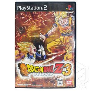 Dragon Ball Z 3 PS2 fronte tuttogiappone