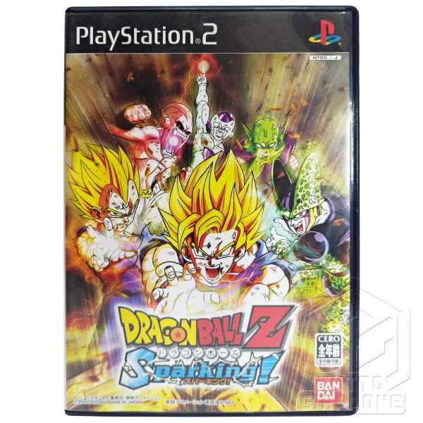 Dragon Ball Z Sparking PS2 fronte tuttogiappone