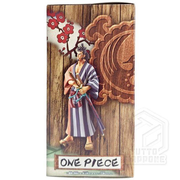 Kinemon One Piece wano DXF The GRANDLINE Men lato 2 tuttogiappone