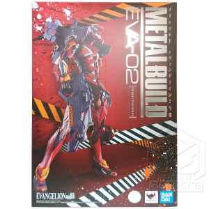 METAL BUILD EVA 02 Production Model Evangelion Action Figure Bandai tuttogiappone fronte