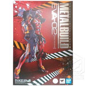 METAL BUILD EVA 02 Production Model Evangelion Action Figure Bandai tuttogiappone fronte