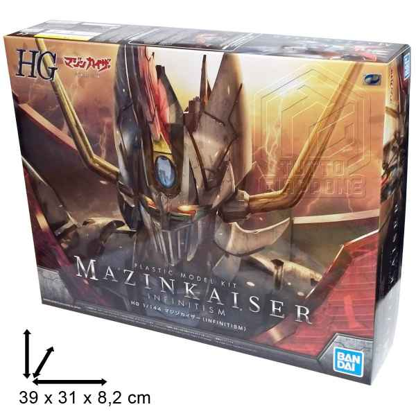 Mazinkaiser Infinitism HG Infinity tuttogiappone 3d