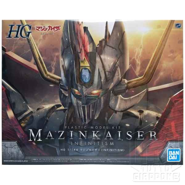Mazinkaiser Infinitism HG Infinity tuttogiappone fronte