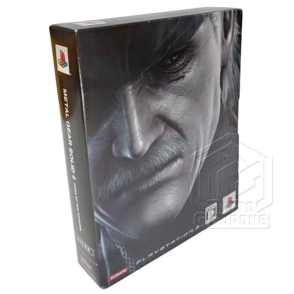 Metal Gear Solid 4 Guns of the Patriots Limited Edition PS3 tuttogiappone 04