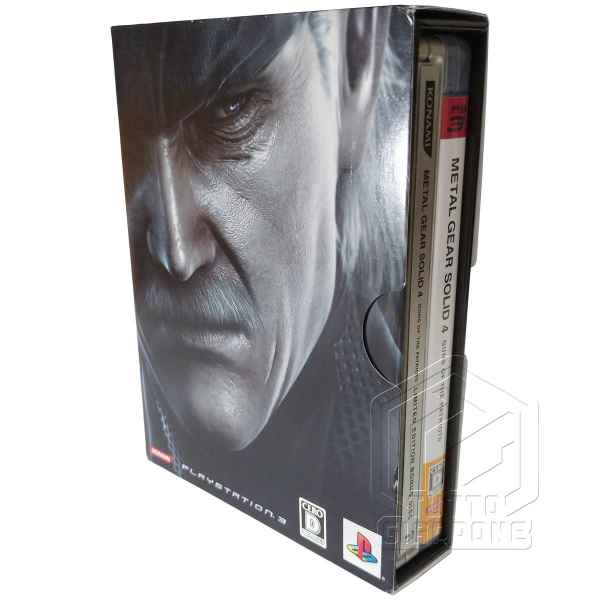 Metal Gear Solid 4 Guns of the Patriots Limited Edition PS3 tuttogiappone 09
