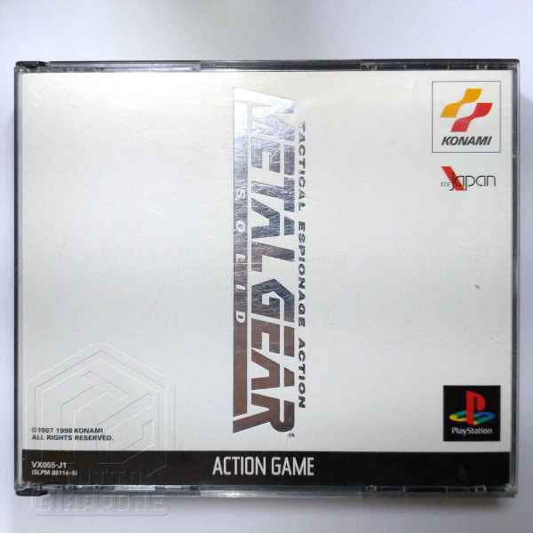 Metal gear solid PS1 sony japan 1 tuttogiappone