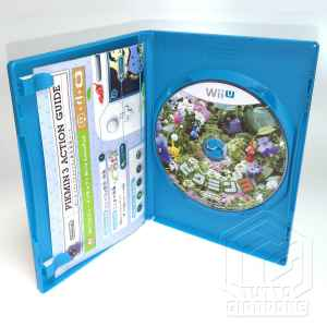 Nintendo Wii U Pikmin 3 disc tuttogiappone