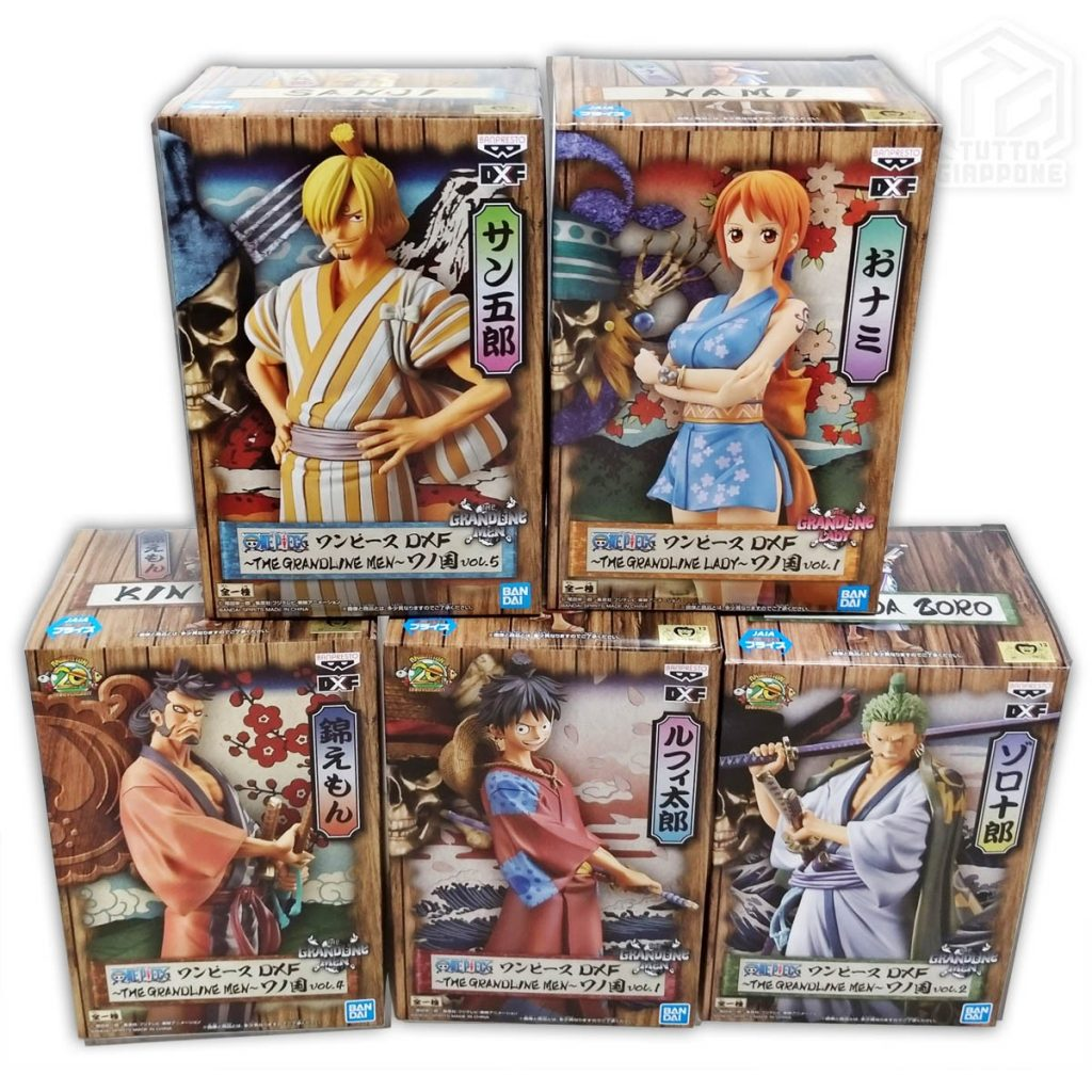 One Piece Wano Kuni DXF