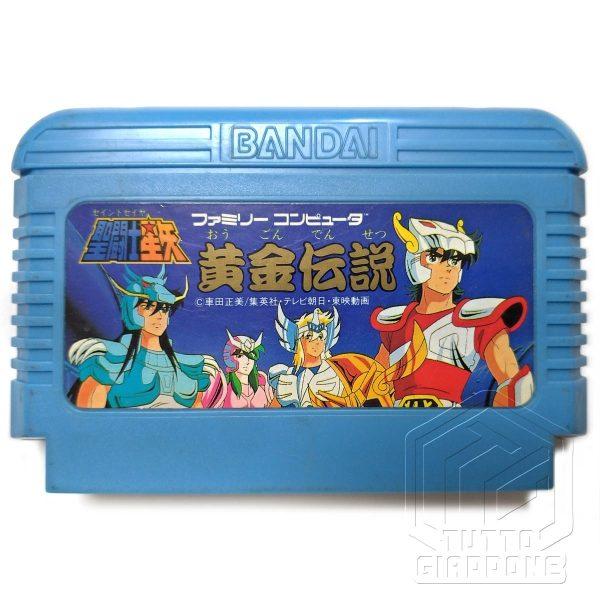 Saint Seiya Golden Legend Nintendo Famicom NES cavalieri dello zodiaco 1 tuttogiappone