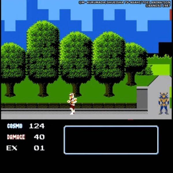 Saint Seiya Golden Legend Nintendo Famicom NES cavalieri dello zodiaco 4 tuttogiappone