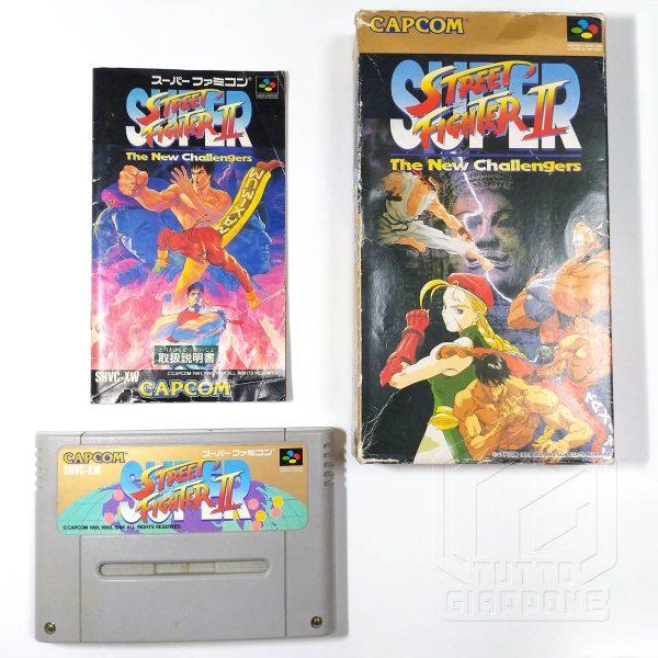 Street Fighter II Super set nes tuttogiappone