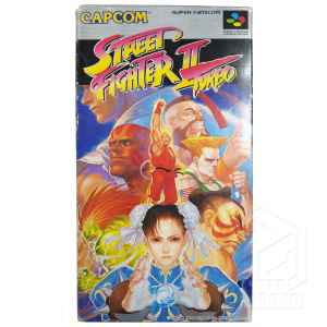 Street Fighter II Turbo fronte nes tuttogiappone