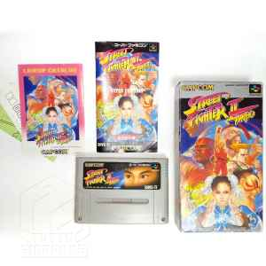 Street Fighter II Turbo set nes tuttogiappone