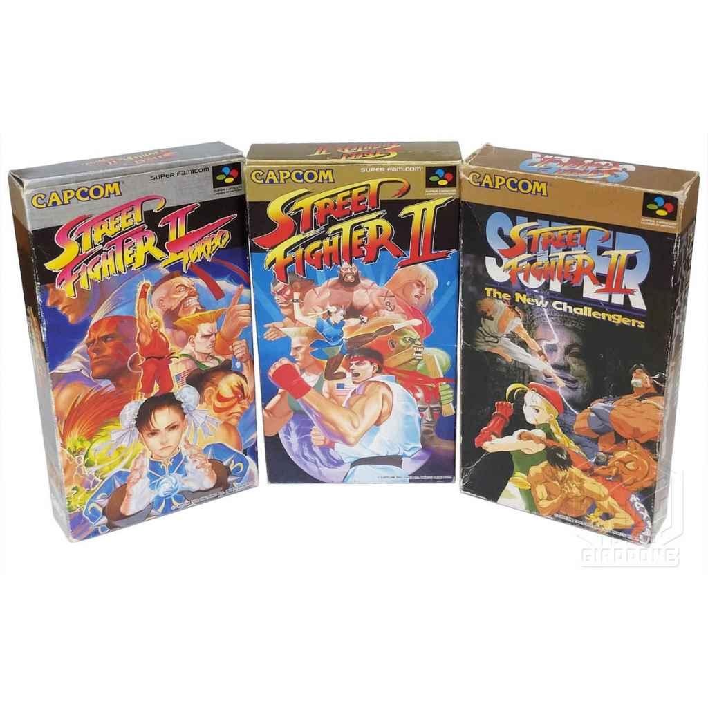 Street Fighter II super turbo set frontale 1 nes tuttogiappone