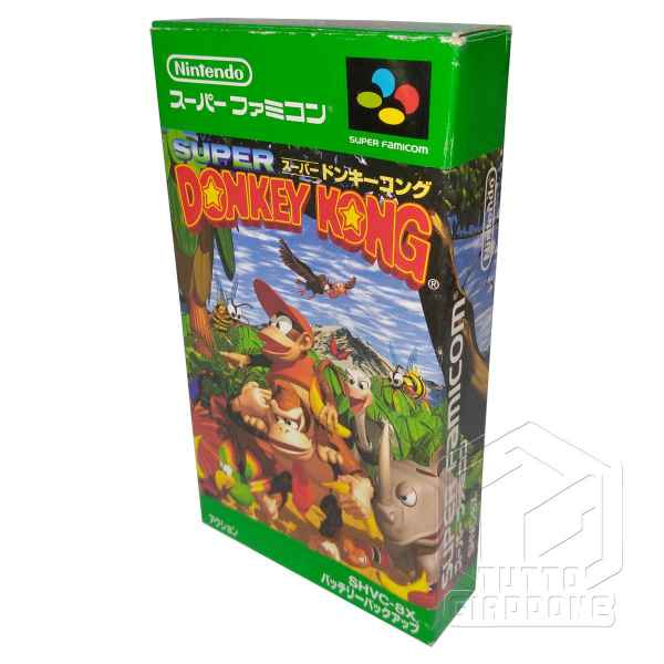 Super Donkey Kong 3d view nes tuttogiappone