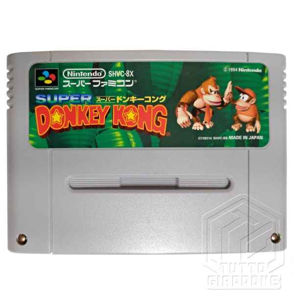Super Donkey Kong cartuccia nes tuttogiappone