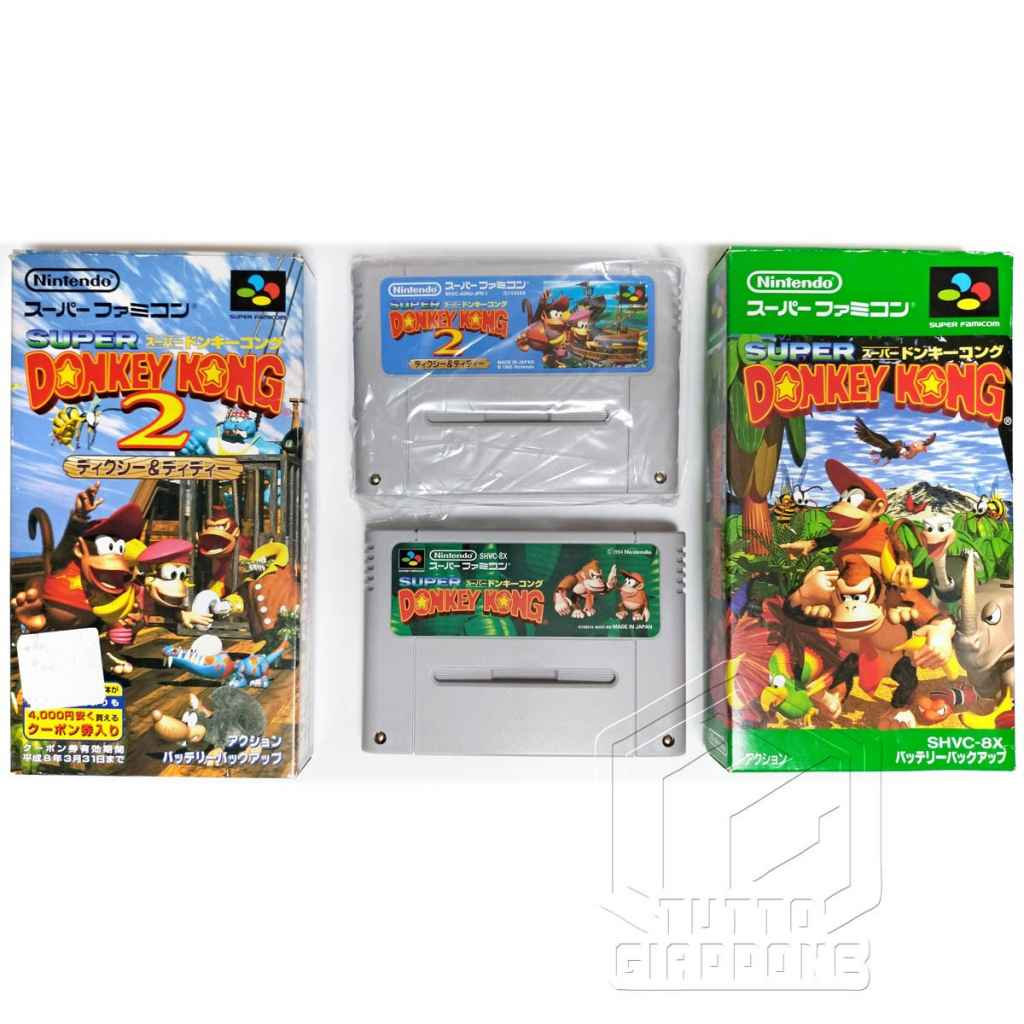 Super Donkey Kong cartucce nes tuttogiappone