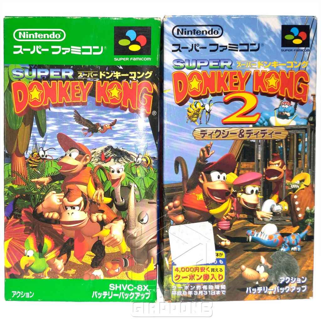 Super Donkey Kong fronte nes tuttogiappone