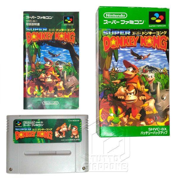 Super Donkey Kong set nes tuttogiappone