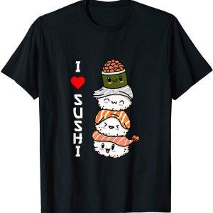 Amo Il Sushi Giappone Cibo Giapponese Maglietta uomo TuttoGiappone