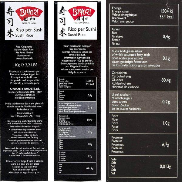 Biyori Riso per Sushi TuttoGiappone 4