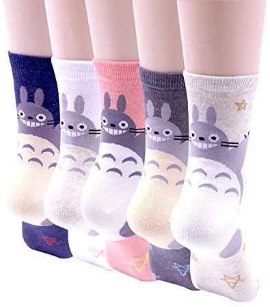 Calzini da donna Totoro cartoni animati giapponesi tuttogiappone