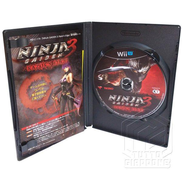 Ninja Gaiden 3 Razor s Edge wii u cd tuttogiappone