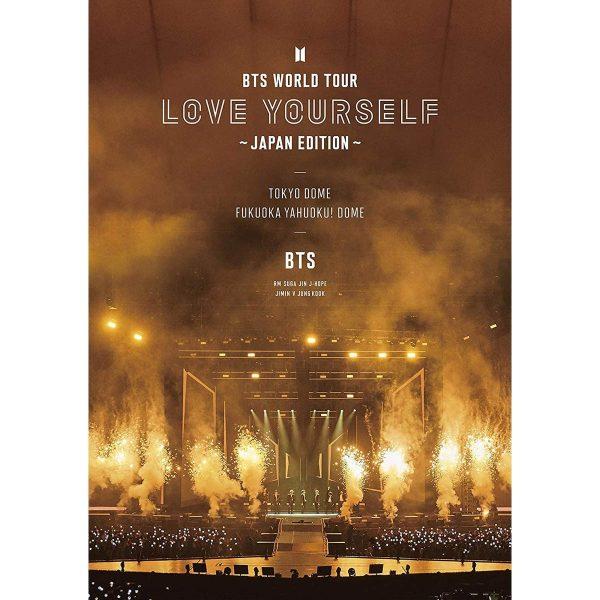 BTS Bangtan Boys Bts World Tour Love Yourself Edizione Giappone Blu ray TuttoGiappone