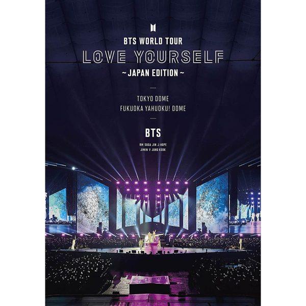 BTS Bangtan Boys Bts World Tour Love Yourself Edizione Giappone DVD TuttoGiappone