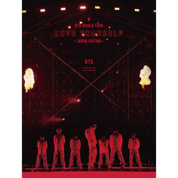 BTS Bangtan Boys Bts World Tour Love Yourself Edizione Giappone DVD edizione limitata TuttoGiappone